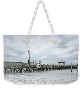 Cape Cod Winter Weekender Tote Bag