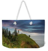 Cape Disappointment After Sunset Weekender Tote Bag