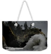 Cape Disappointment Finale Weekender Tote Bag