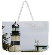 Cape Disappointment Lighthouse Closeup Weekender Tote Bag