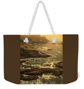 Cape Flattery Misty Morning - Washington Weekender Tote Bag