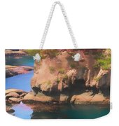 Cape Flattery Reflection Weekender Tote Bag