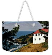 Cape Foulweather Point Weekender Tote Bag