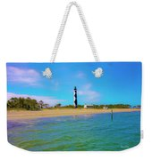 Cape Lookout 1 Weekender Tote Bag by Betsy Knapp