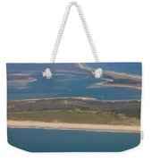 Cape Lookout Lighthouse Distance Weekender Tote Bag