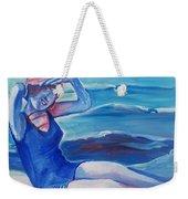 Cape May 1920s Girl Weekender Tote Bag