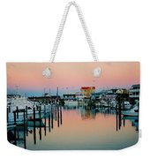Cape May After Glow Weekender Tote Bag