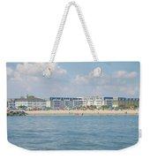 Cape May Beach Scene Weekender Tote Bag
