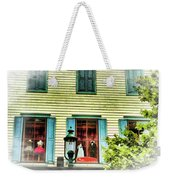 Cape May New Jersey City Scenic Weekender Tote Bag