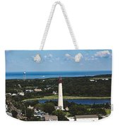 Cape May Point Lighthouse Weekender Tote Bag