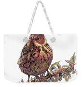 Cape May Warbler Weekender Tote Bag