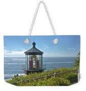Cape Meares Lighthouse Oregon Coast. Weekender Tote Bag