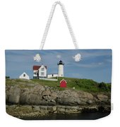Cape Neddick Light Weekender Tote Bag