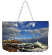 Cape Neddick Lighthouse Weekender Tote Bag