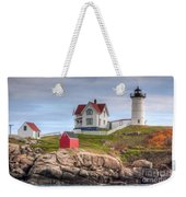 Cape Neddick Nubble Lighthouse I Weekender Tote Bag