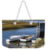 Cape Rowboats Weekender Tote Bag