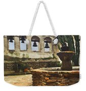 Capistrano Fountain Weekender Tote Bag