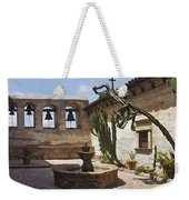 Capistrano Mission Courtyard Weekender Tote Bag