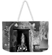 Capistrano Mission Statue Weekender Tote Bag