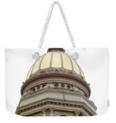 Capital Building Dome Cheyenne Wyoming Vertical 01 Weekender Tote Bag