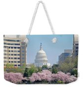 Capitol Blossoms Weekender Tote Bag