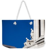 Capitol Statues - Madison Wisconsin-1 Weekender Tote Bag