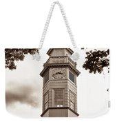 Capitol Time - Sepia Weekender Tote Bag