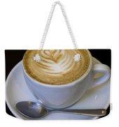 Cappuccino Weekender Tote Bag
