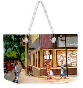 Cappucino  Cafe At Beauty's Restaurant Weekender Tote Bag