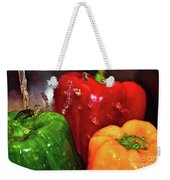 Capsicum In The Wash Weekender Tote Bag