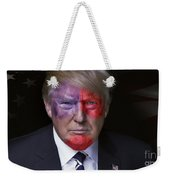 Captain America Weekender Tote Bag by Kira Yan