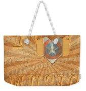 Captain America Lullaby Original Digital Weekender Tote Bag