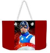 Captain America Super Hero Weekender Tote Bag