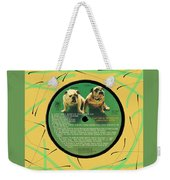 Captain And Tennille Greatest Hits Lp Label Weekender Tote Bag