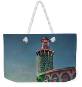 Captain Doug's Lighthouse Weekender Tote Bag