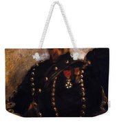 Captain Edouard Bernier 1871 Weekender Tote Bag