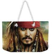Captain Jack Sparrow Weekender Tote Bag