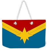 Captain Marvel Logo Weekender Tote Bag