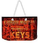 Captain Morgan The Florida Keys Weekender Tote Bag