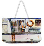 Captain Of The Lady Suzzy Q Weekender Tote Bag