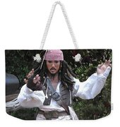 Captain Sparrow Weekender Tote Bag