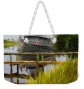 Captains Boat Weekender Tote Bag