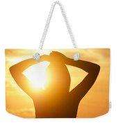 Capture Light Weekender Tote Bag