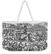 Capture Of Atahualpa, 1532 Weekender Tote Bag