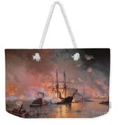 Capture Of New Orleans By Union Flag Officer David G Farragut Weekender Tote Bag