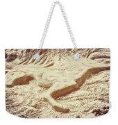 Captured In The Sand Art Weekender Tote Bag