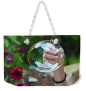 Capturing A Bubble Weekender Tote Bag
