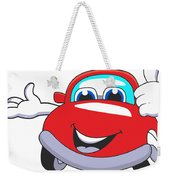 Car Weekender Tote Bag