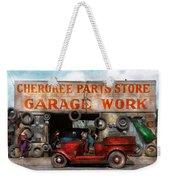 Car - Garage - Cherokee Parts Store - 1936 Weekender Tote Bag