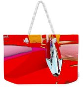 Car Hood Reflection Bump Map Weekender Tote Bag